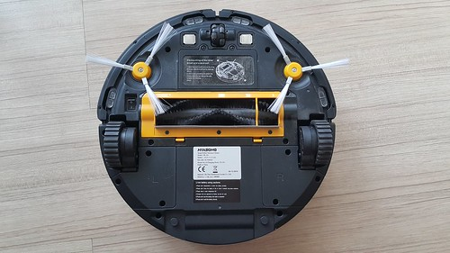 ด้่านใต้ของหุ่นดูดฝุ่น Hyasong VR-101