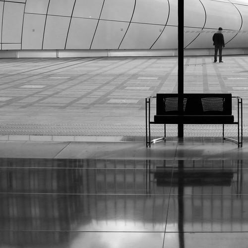 Urban Chronicles  ~  The Bench   ~  Paris ~ MjYj by MjYj