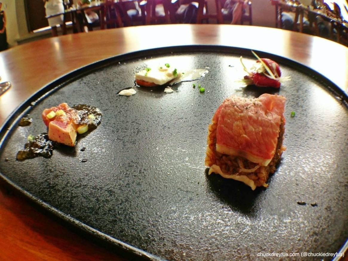 Cold Appetizer: Assorted cold appetizer