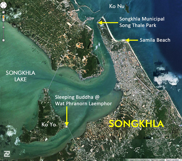 Songkhla Map