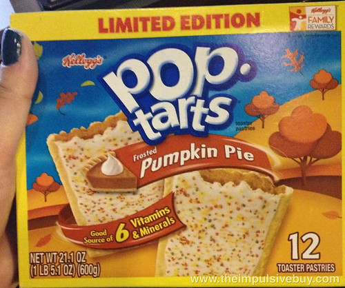 Limited Edition Pumpkin Pie Pop-Tarts