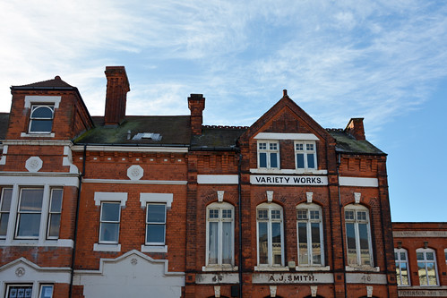 Variety Works Jewellery Quarter by Helen Ogbourn