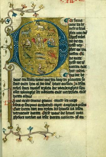 024-Fol 12rW.171, DUKE ALBRECHT'S TABLE OF CHRISTIAN FAITH (WINTER PART)-1400-The Digital Walters