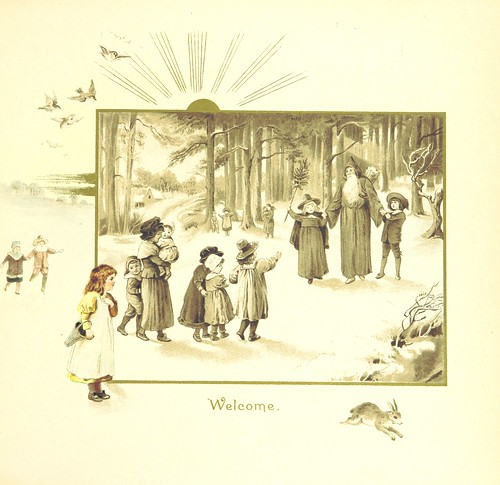 Image taken from page 9 of 'The Coming of Father Christmas'