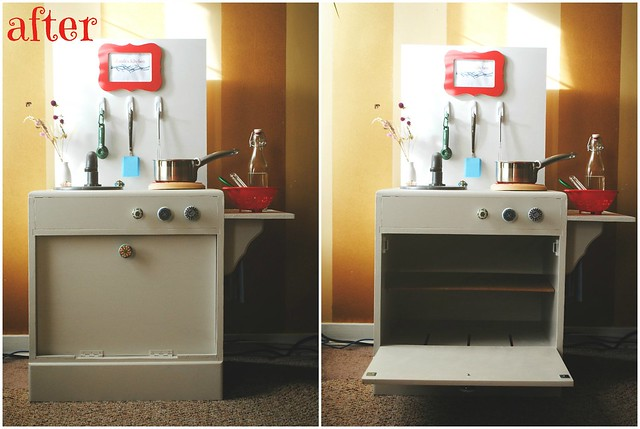 DIY Toy Kitchen