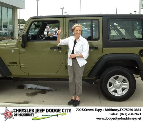 Happy Birthday to Jean Chatting from Joe Ferguson  and everyone at Dodge City of McKinney! #BDay by Dodge City McKinney Texas