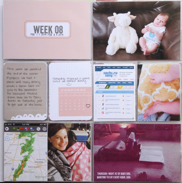 2014 Project Life Week 8