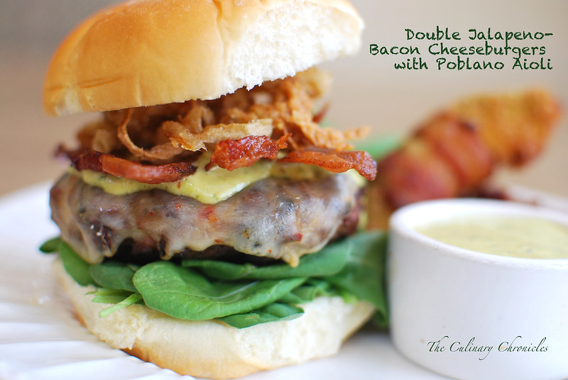 Double Jalapeno Bacon Cheeseburgers