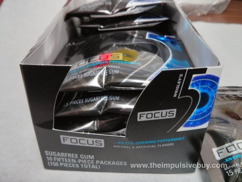 Wrigley's 5 Focus Peppermint