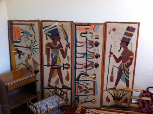 Egyptian decor