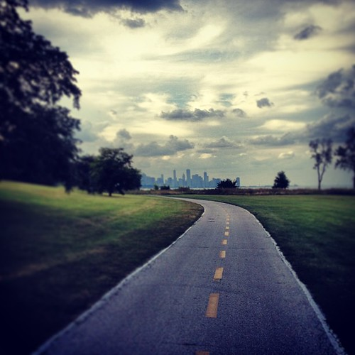 Biking on the beautiful South Side