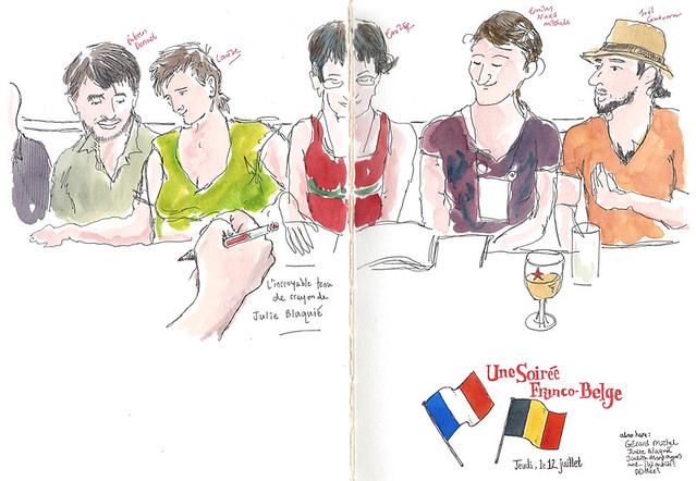 Une Soiree Franco-Belge