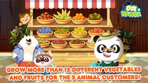 Dr panda veggie garden
