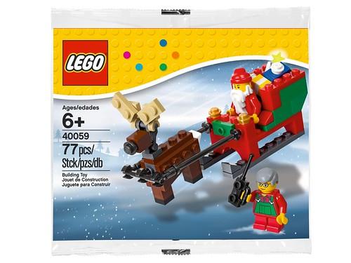 40059 Santa's Sleigh BOX