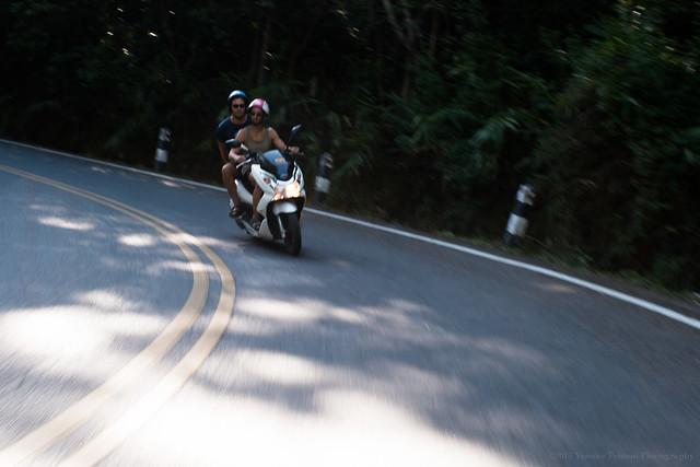 guys on the bike