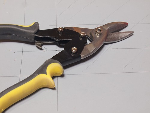 AP Aviation Snip Pliers Straight Cutting