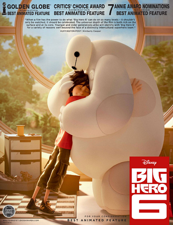 Big hero 6 For your concideration