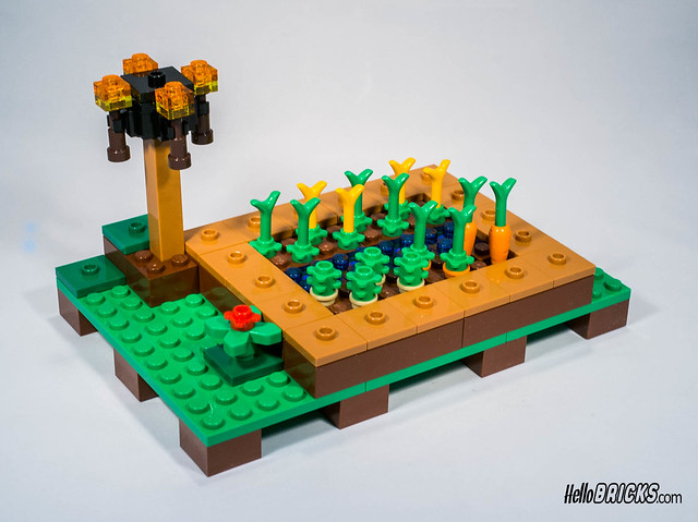 LEGO 21128 Minecraft The village