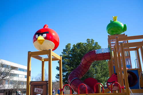 Angry Birds activity park for children