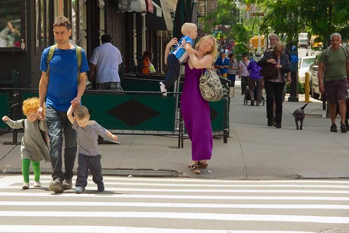 New Yorkers are just like everyone else: they take care of their kids ...