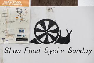 Slow Food Cycle Sunday, 18 Aug 2013