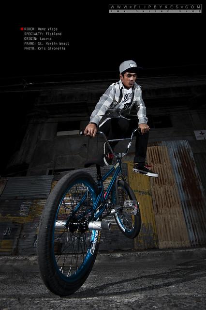 Flipbykes Team Rider - Renz Viaje (BMX Flatland)