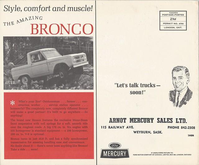 1966 Mercury truck rear