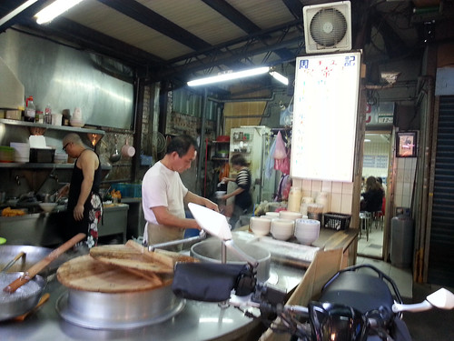 small beef noodle stall