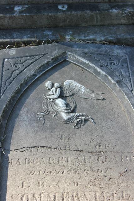 Cemetery at Old Cahawba, Alabama