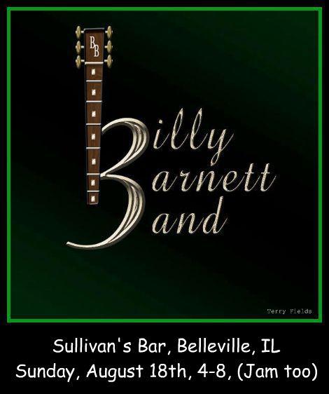 Billy Barnett 8-18-13
