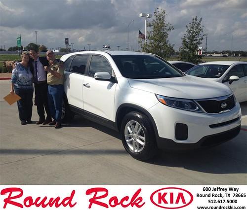 Thank you to Frank Friedel on your new 2014 #Kia #Sorento from Derek Martinez and everyone at Round Rock Kia! #LoveMyNewCar by RoundRockKia