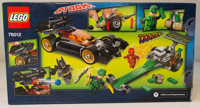 REVIEW LEGO 76012 Batman - la poursuite du Sphinx