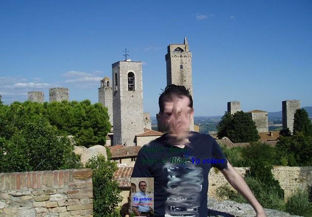 Mirador torres medievales de San Gimignano