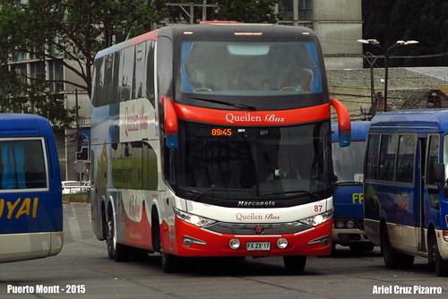 Queilen Bus - Puerto Montt (Chile) - Marcopolo Paradiso 1800 DD G7 / Mercedes Benz (FXZX17)