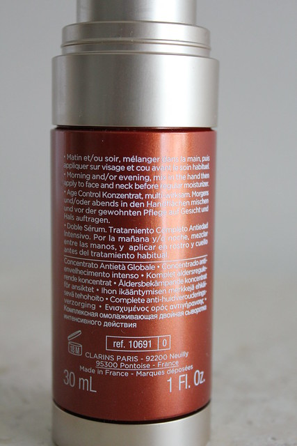 Clarins Double Serum Complete Age Control Concentrate review