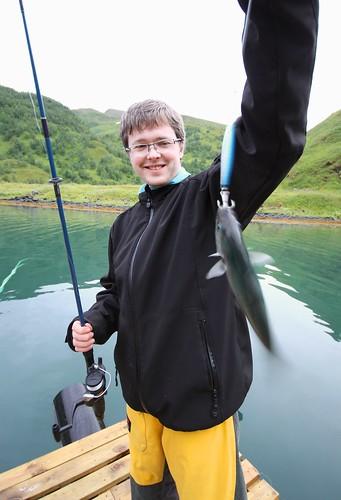 Fisk får man å… la oss kalle det sjø-ørret...