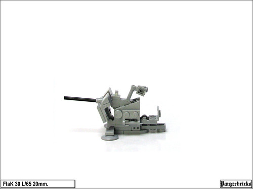 FlaK 30 de 20mm. de Panzerbricks
