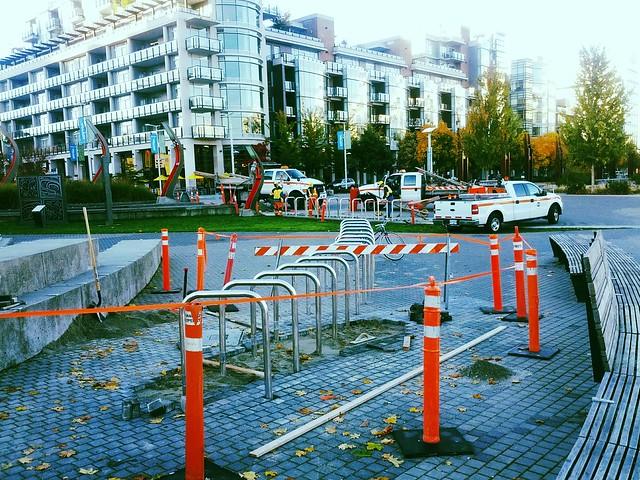 Olympic Village Bike Racks