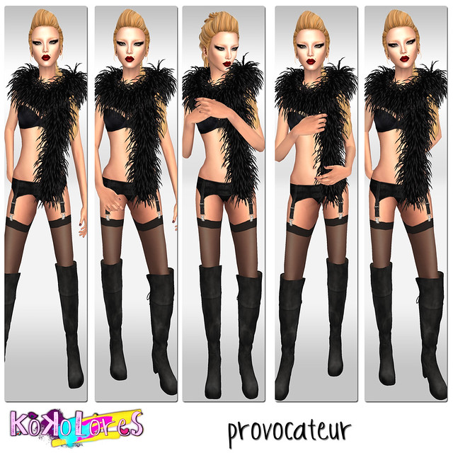 [KoKoLoReS]{provocateur}poses