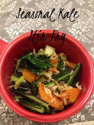 Seasonal Kale Stir Fry from gettinggoft.wordpress.com