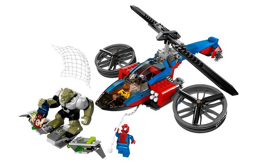 76016 Spider-Helicopter Rescue