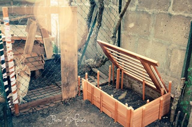 Lapin et jardin