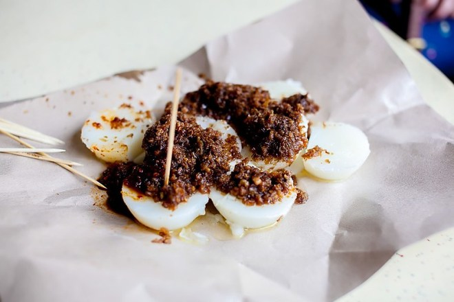 Chwee Kueh from Tiong Bahru Hawker Centre