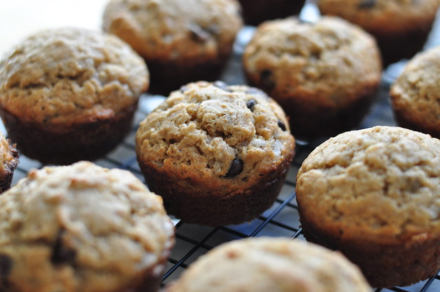banana chocolate muffins 01