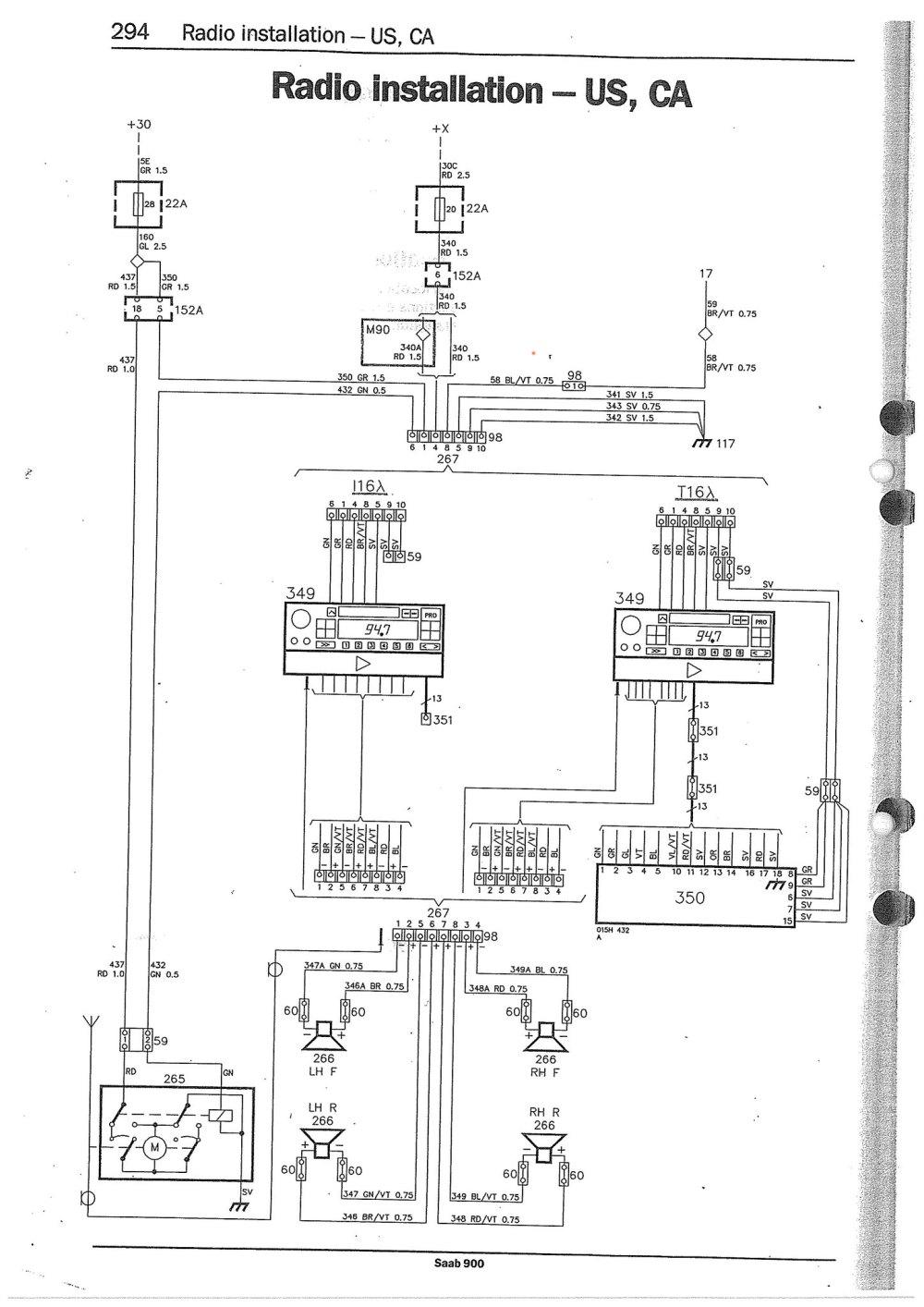 medium resolution of 1996 saab wiring diagram wiring librarysaab 9000 stereo wiring diagram saab get free image about wiring