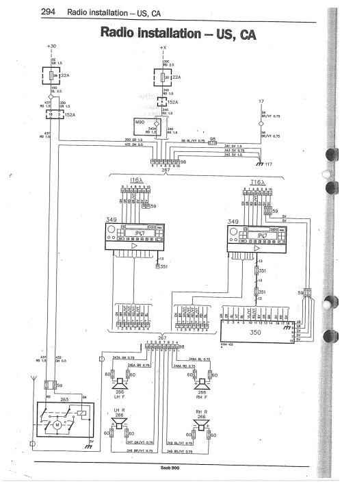 small resolution of 1996 saab wiring diagram
