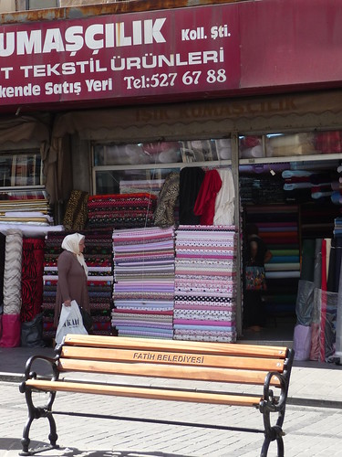 Fabric Shopping in Istanbul, Turkey