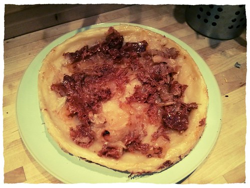 Apple tarte tatin - fail no.1