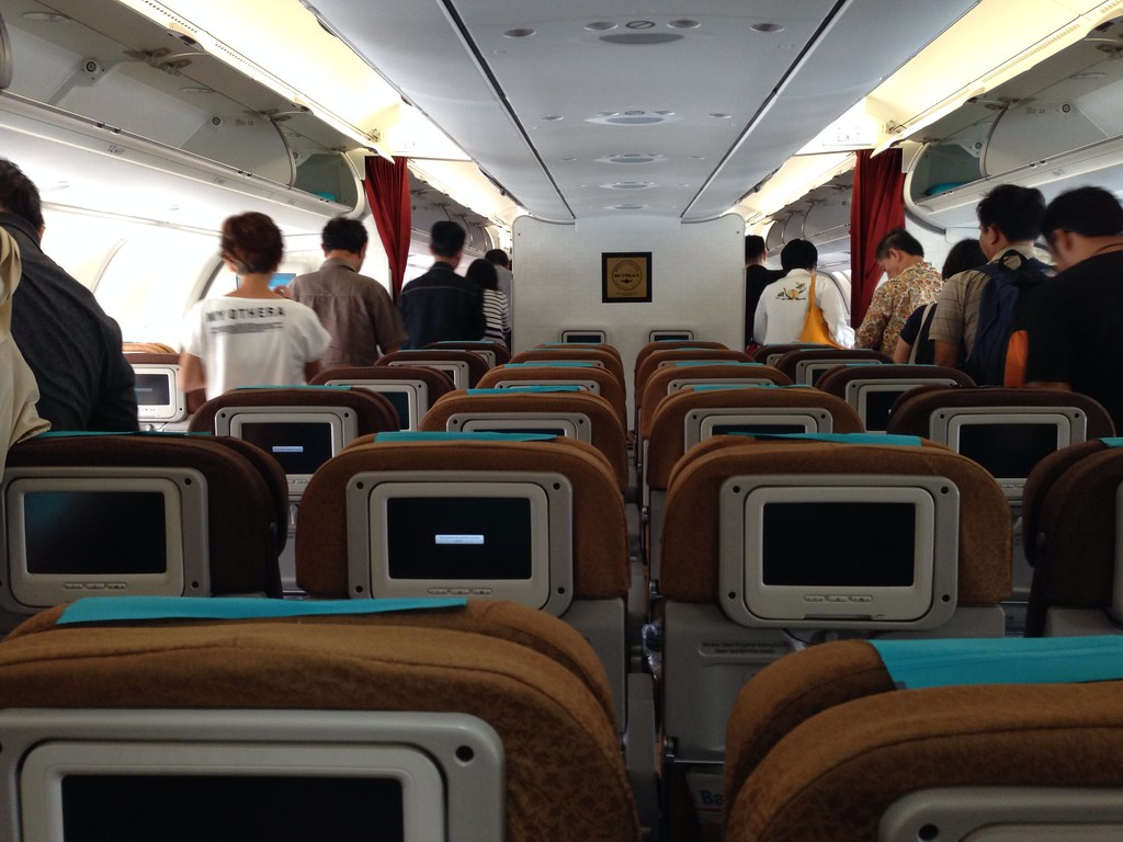 Garuda Indonesia Airbus A330 Economy Class