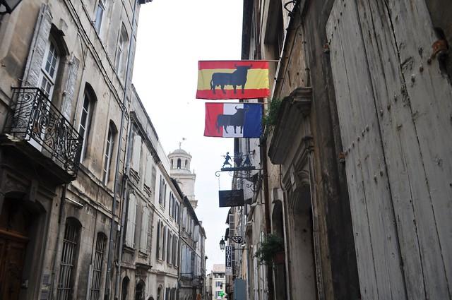 Bull Flags, Arles, France, Sept. 2013